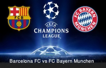 Rencontre barcelone vs bayern