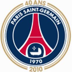 logos du PSG 2010-2011