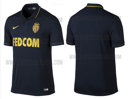 tenue de foot AS Monaco noir